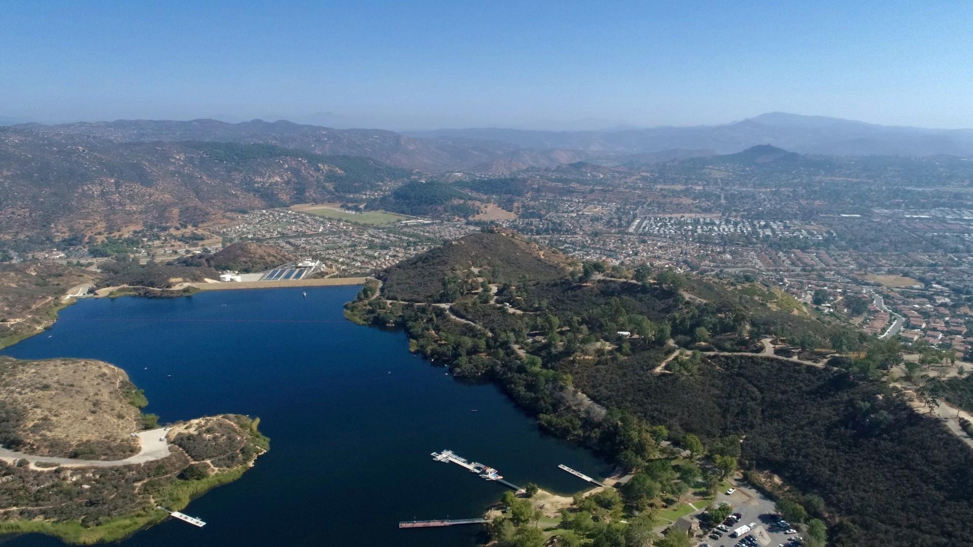Beautiful top view in Escondido County California