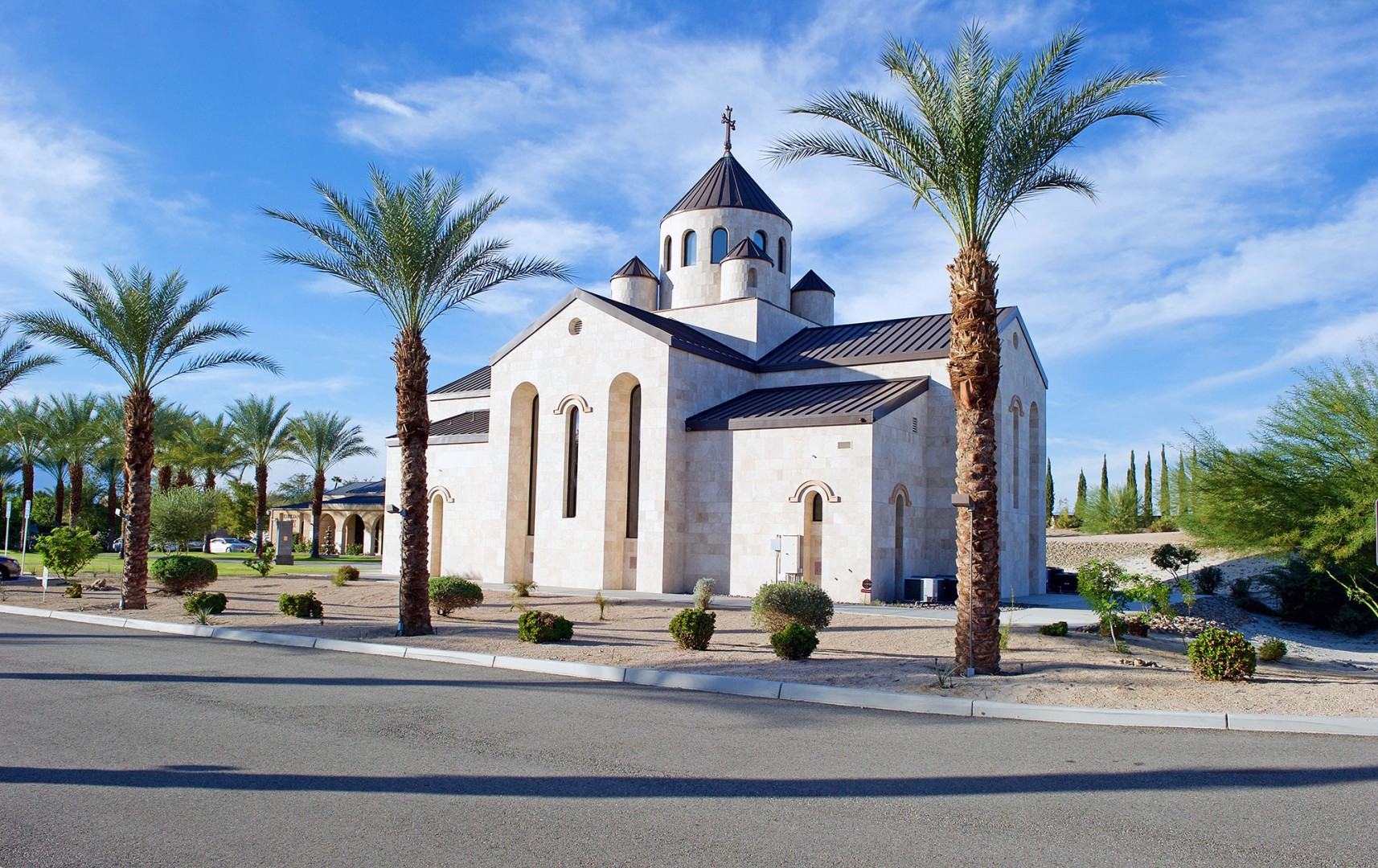 Church plain view located in Rancho Mirage County California